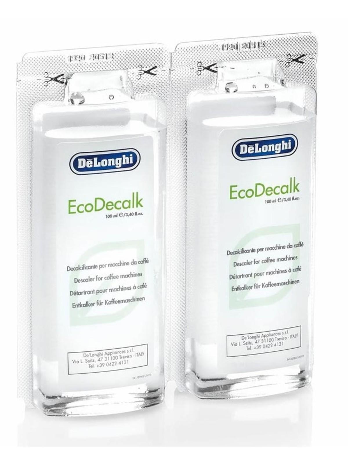 DELONGHI EcoDecalk Mini 2 x 100ml Descaler Pack of 1
