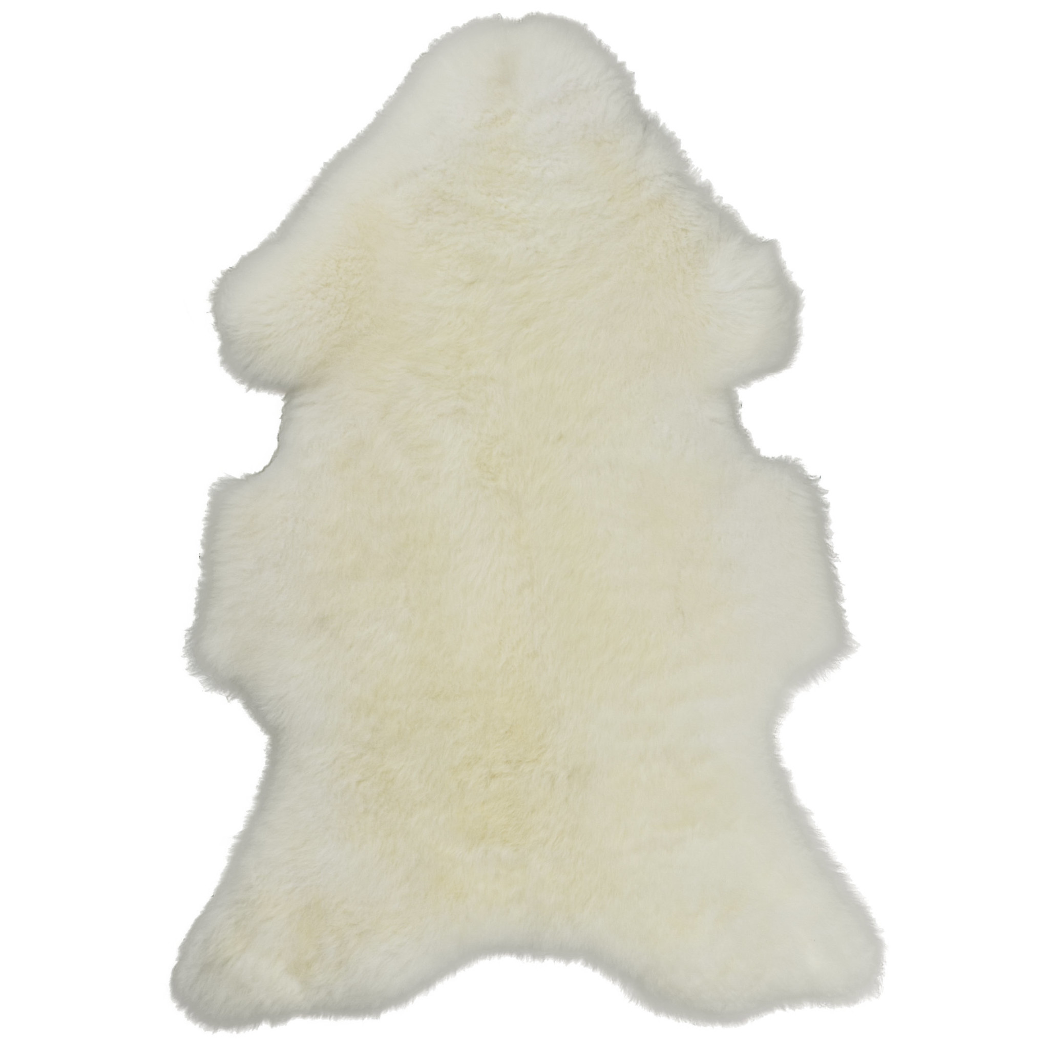 Schaffell Weiß