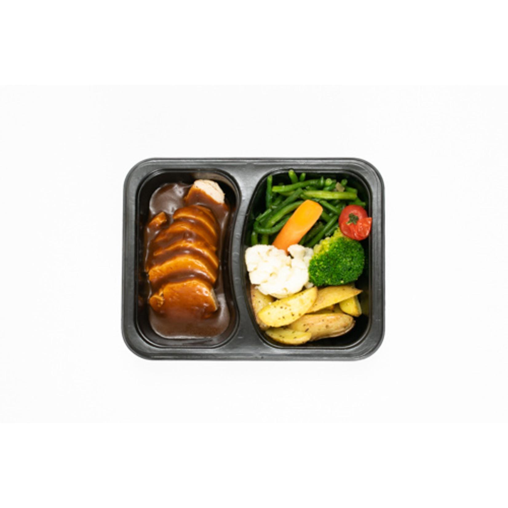 Bressekip met Groenten en Aardappelen