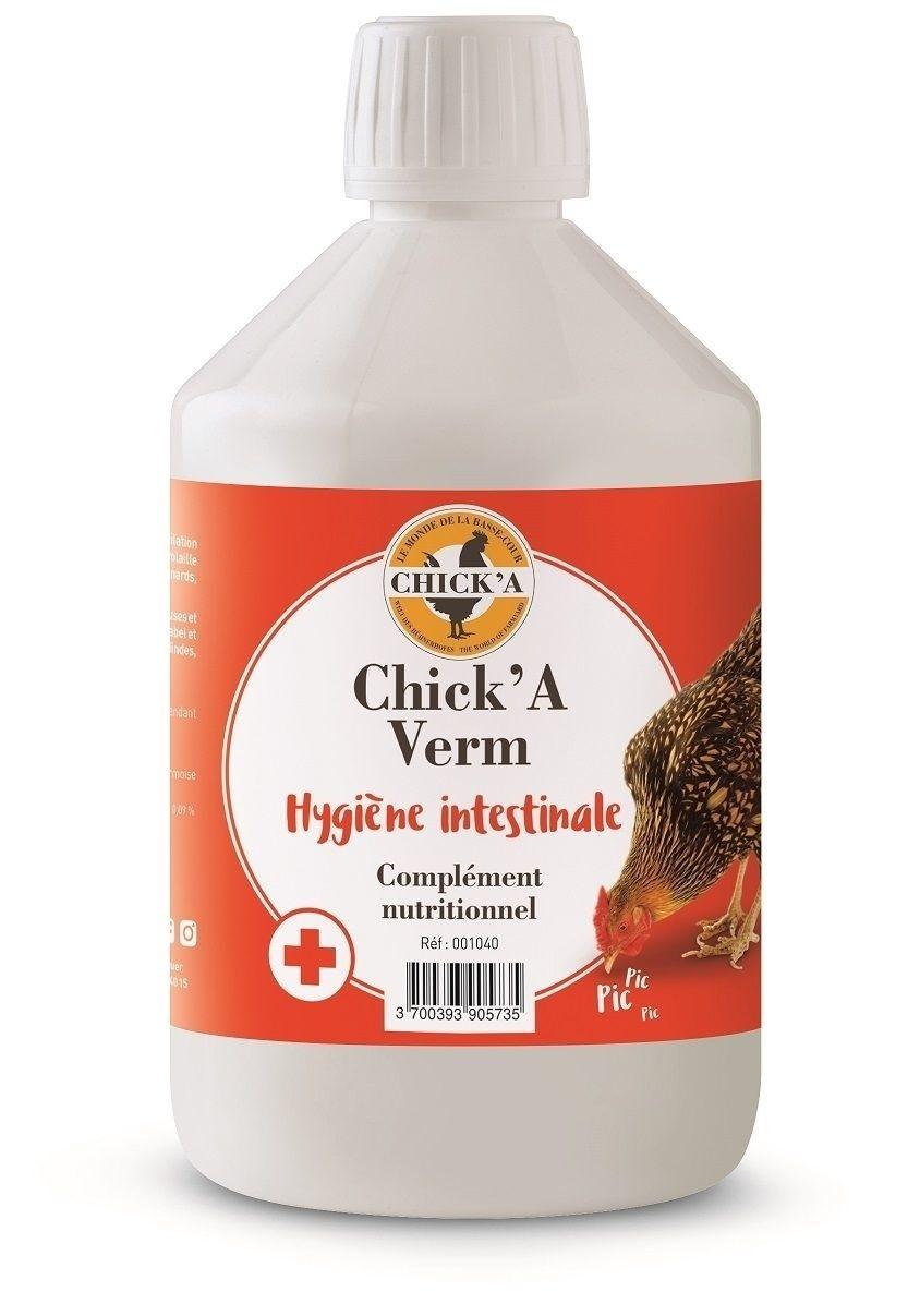 CHICKA Ré-équilibrant intestinal pour volaille - 500 ml