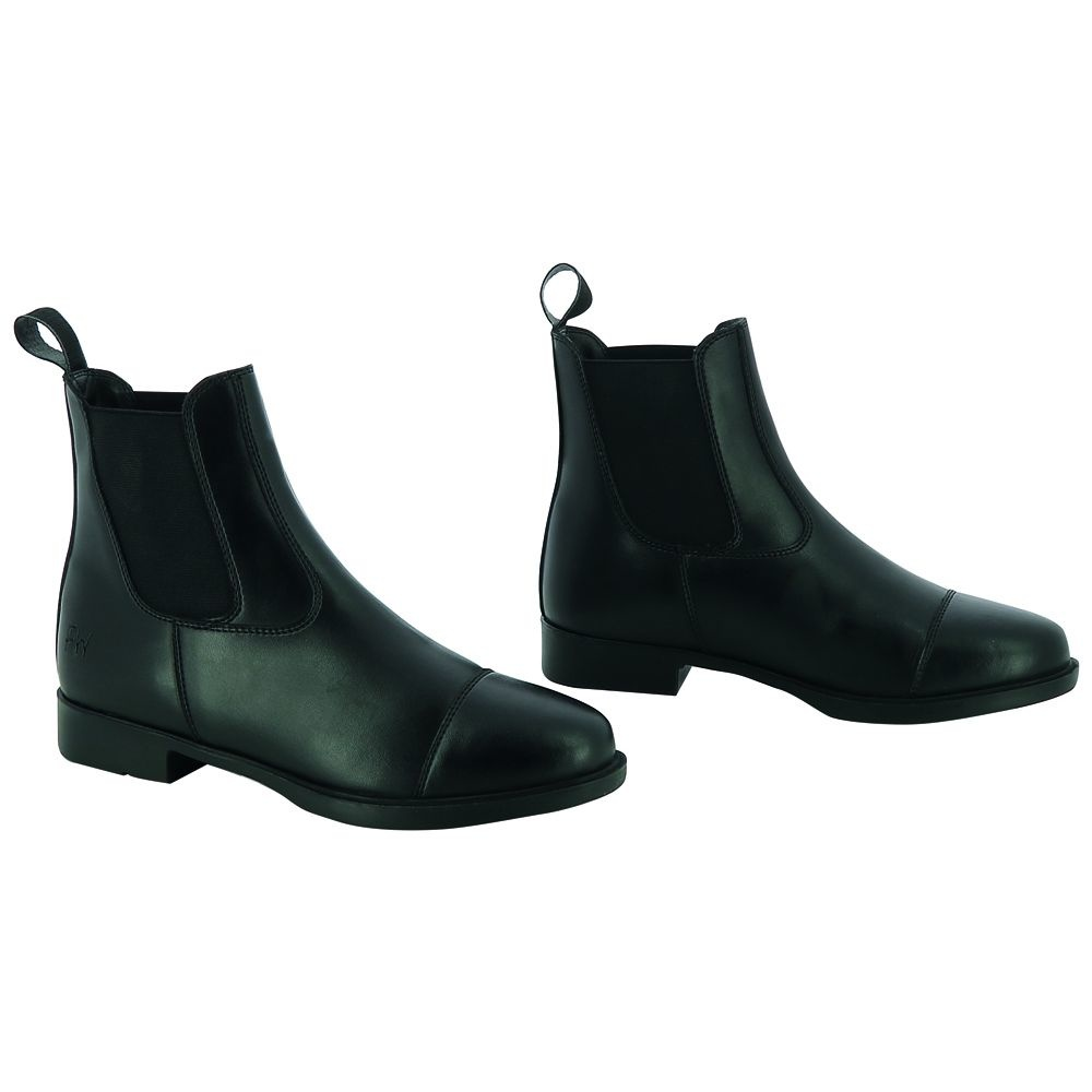 """RIDING WORLD Boots synthétiques """"FIRST"""" noir"""