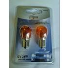 lamp BAU15S AMBER 12V 21W