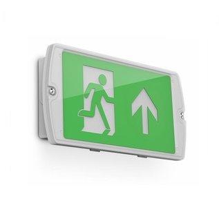 EM - Kosnic Manot LED opbouw noodverlichting wit, vluchtwegverlichting en anti-paniekverlichting, 6W