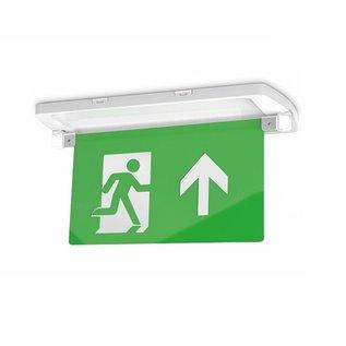 EM - Kosnic Manot-D LED opbouw/half inbouw noodverlichting wit, vluchtwegverlichting en anti-paniekverlichting, 6W