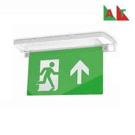 EM - Kosnic Manot-D LED opbouw/half inbouw noodverlichting wit, vluchtwegverlichting en anti-paniekverlichting, 6W met zelftest