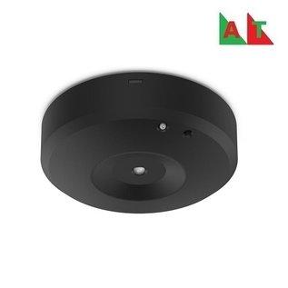 EM - Kosnic Nitro-S OA zwart opbouw noodverlichting-antipaniekverlichting, alleen nood, 2,3W, open area met zelftest