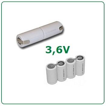 3,6V batterijen