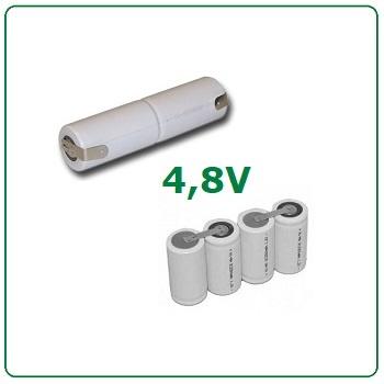 4,8V batterijen