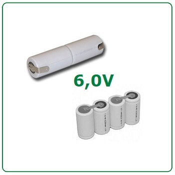 6,0V batterijen