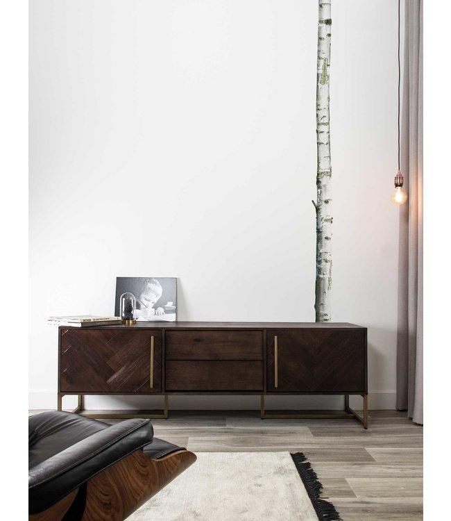 Muursticker Home Tree 2, 8 x 260 cm