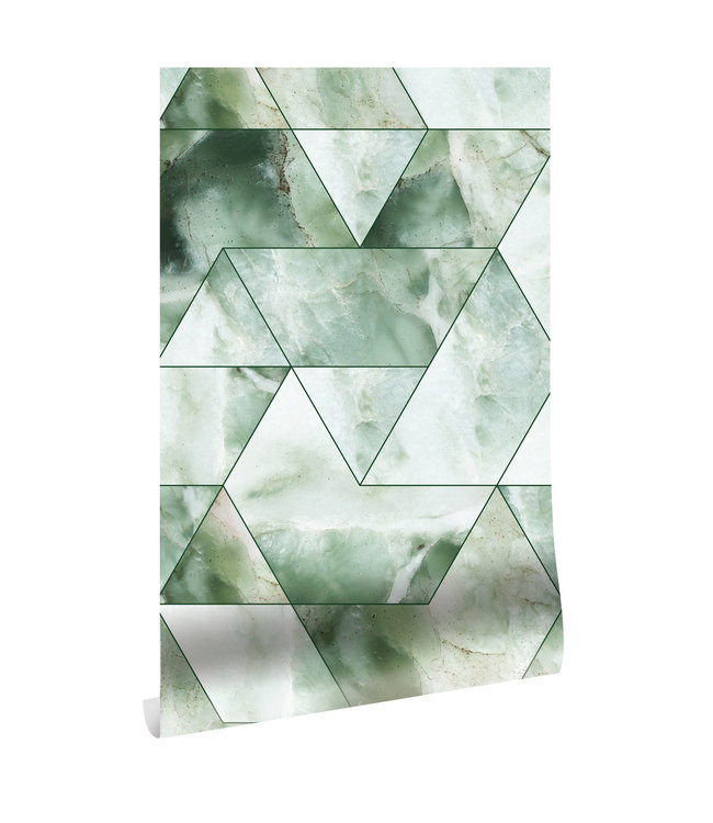 Tapete Marble Mosaic, 97.4 x 280 cm