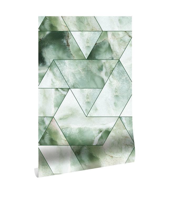 Wallpaper Marble Mosaic