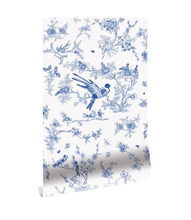 Tapete Birds & Blossom, 97.4 x 280 cm