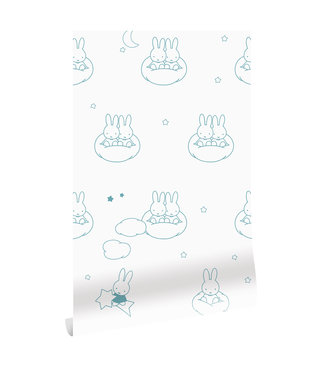 Wallpaper Miffy Clouds, 97.4 x 280 cm