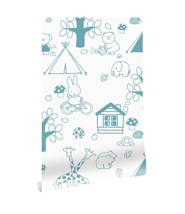 Tapete Miffy Outdoor Fun, 97.4 x 280 cm