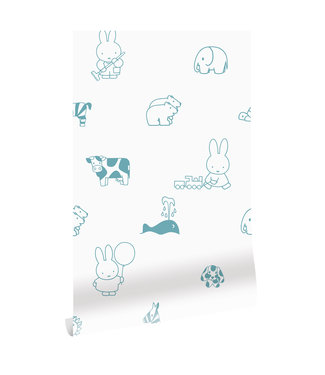 Tapete Miffy Animals, 97.4 x 280 cm