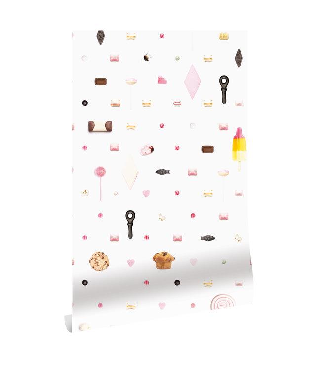 Wallpaper Mixed Candy, 146.1 x 280 cm