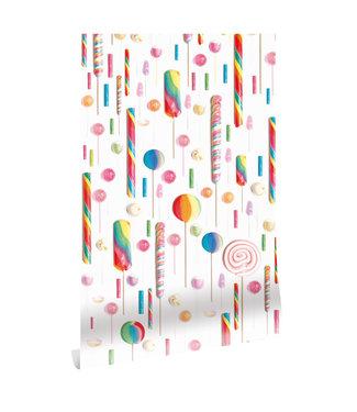 Wallpaper Lollies, 146.1 x 280 cm