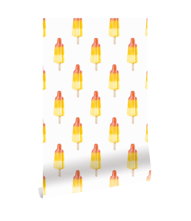 Wallpaper Popsicles, 97.4 x 280 cm