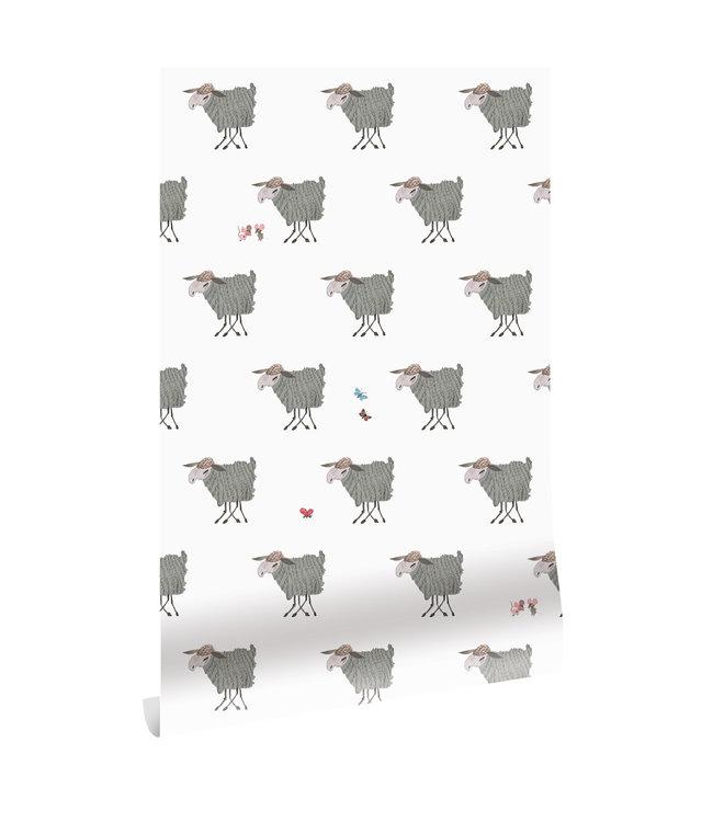 Wallpaper Fiep Westendorp Sheep, 97.4 x 280 cm