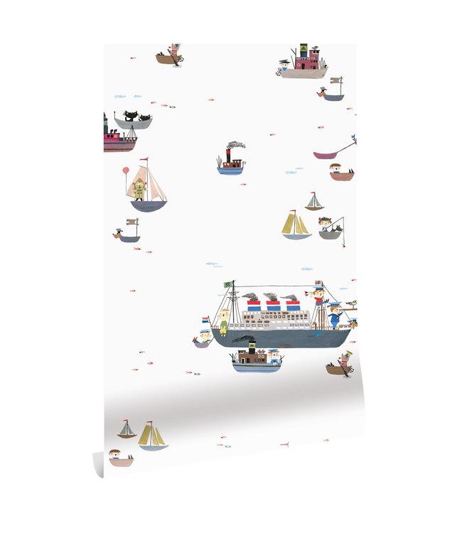 Wallpaper Fiep Westendorp Holland America Line, 97.4 x 280 cm