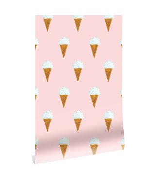 Behang Fiep Westendorp IJsjes, Roze, 97.4 x 280 cm