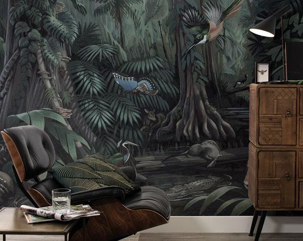 Behang tropische landscappen