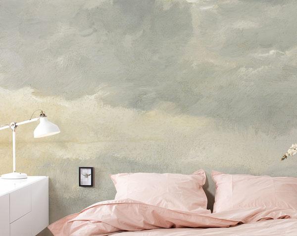 Behang met wolkenluchten