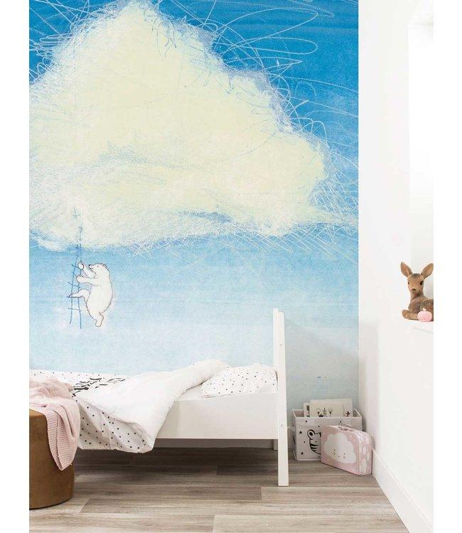Wall Mural Climbing The Clouds, 389.6 x 280 cm