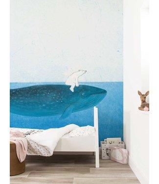 Fotobehang Riding The Whale, 389.6 x 280 cm