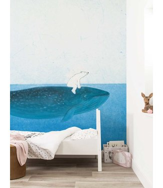 Wall Mural Riding The Whale, 389.6 x 280 cm