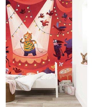 Wall Mural Karaoke Tiger, 292.2 x 280 cm