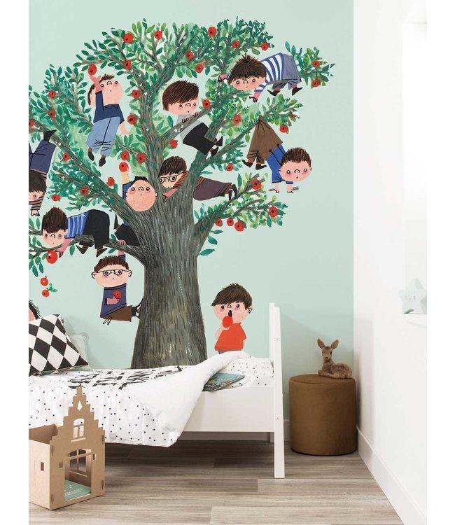 Fotobehang Apple Tree, 243.5 x 280 cm