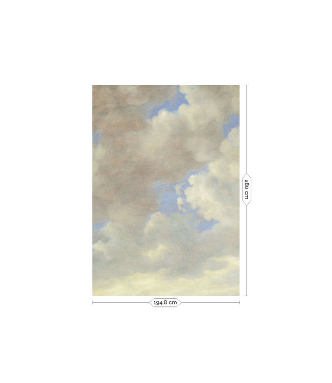 Wall Mural Golden Age Clouds