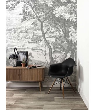 Wall Mural Engraved Landscapes