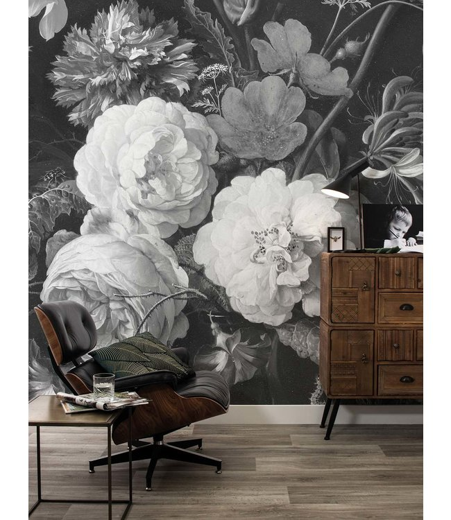 Wall Mural Golden Age Flowers