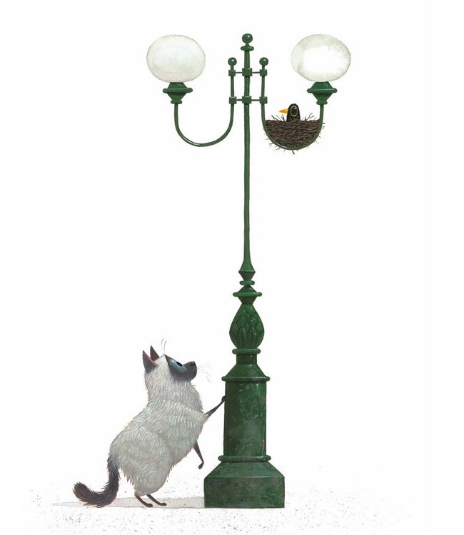 Behangpaneel A Home for Harry, 142.5 x 180 cm