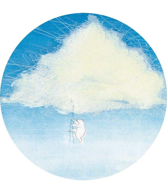 Behangcirkel Climbing the Clouds