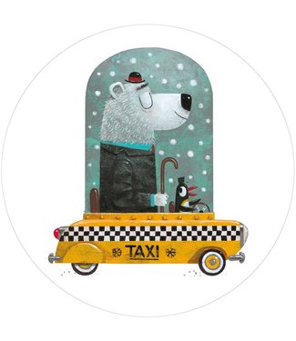 Behangcirkel Bear Cab
