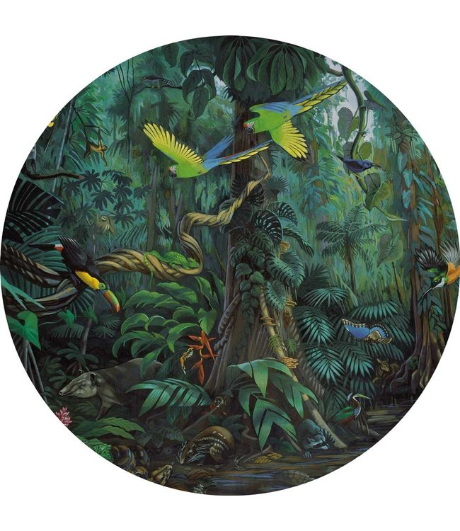 Tapetenpaneel rund Tropical Landscapes