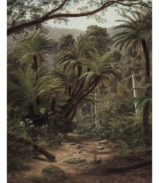 Wallpaper Panel Palm Trees, 142.5 x 180 cm