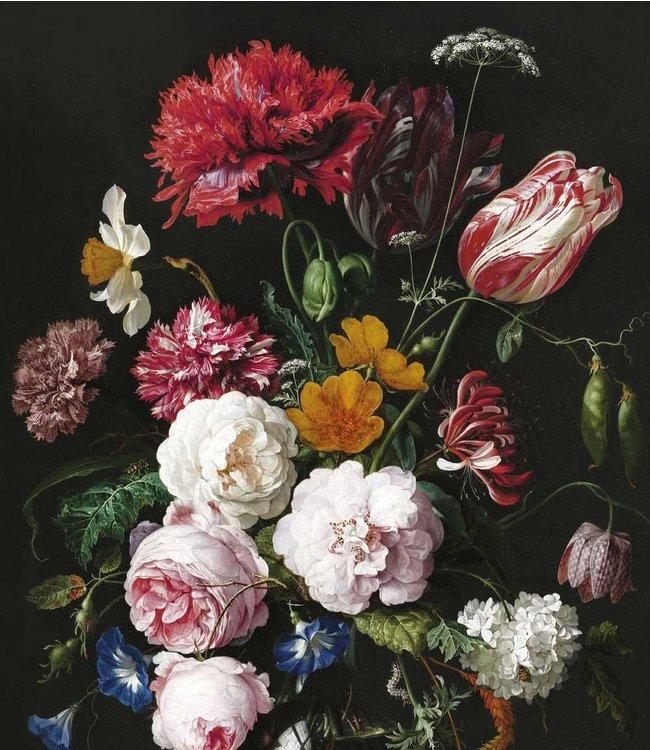 Tapetenpaneel XL Golden Age Flowers, 190 x 220 cm