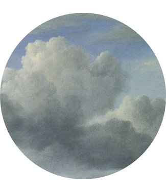 Wallpaper Circle Golden Age Clouds