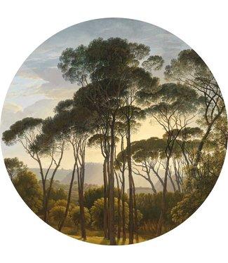 Wallpaper Circle Golden Age Landscapes