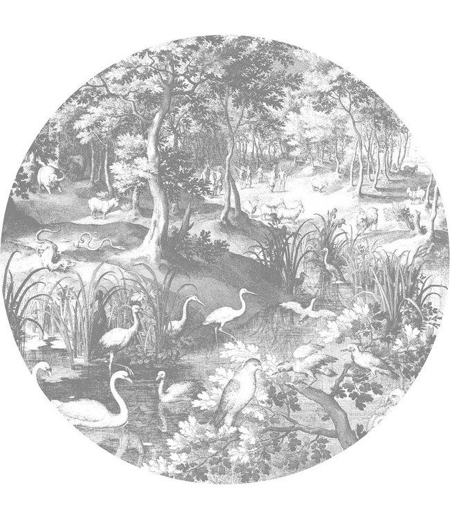 Behangcirkel Engraved Landscapes