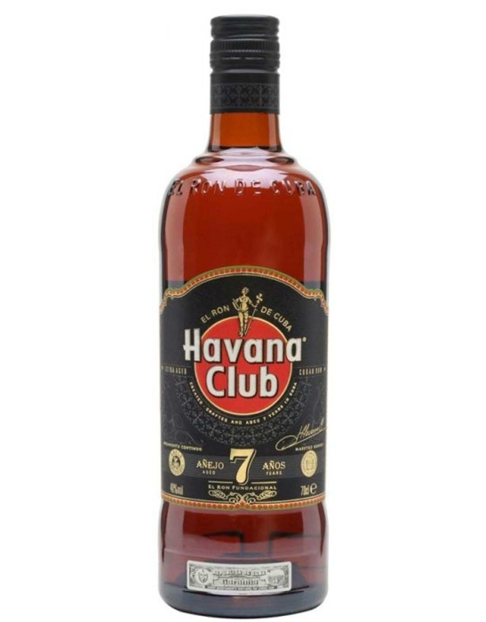 Havana Club Havana Club Anejo 7y brown 70cl