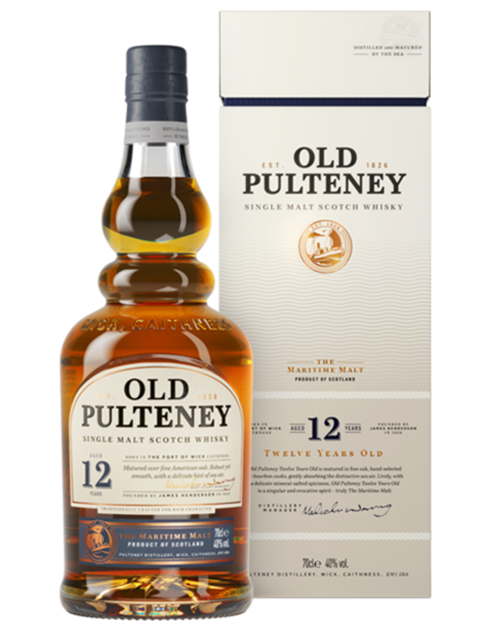 Old Pulteney Old Pulteney 12yr 70cl