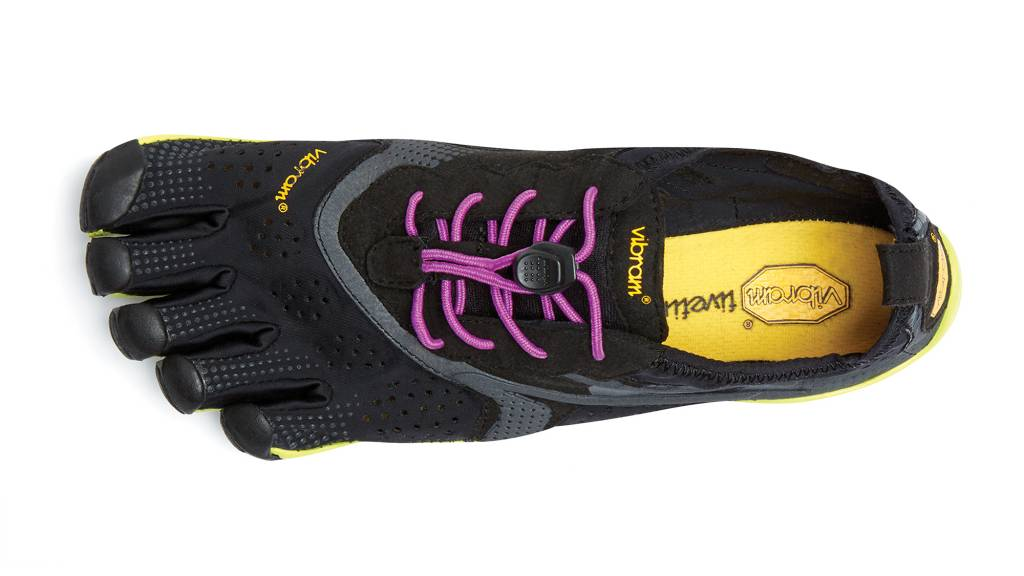 Vibram FiveFingers V-Run - Black / Yellow - Dames -36-