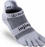 Injinji RUN Performance 2.0 - Lichtgewicht teensokken - No Show - Grey