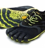 Vibram FiveFingers V-Run - Black / Yellow - Heren